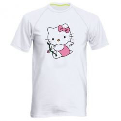 Чоловіча спортивна футболка Kitty амурчик - FatLine