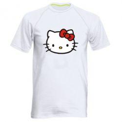 Мужская спортивная футболка Kitty - FatLine