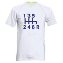 Мужская спортивная футболка Коробка передач - FatLine