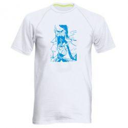 Мужская спортивная футболка Козачина з люлькою - FatLine