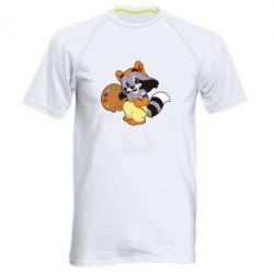 Купить Мужская спортивная футболка Крошка Енот, FatLine