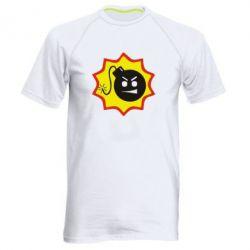 Мужская спортивная футболка Крутой Сем - FatLine