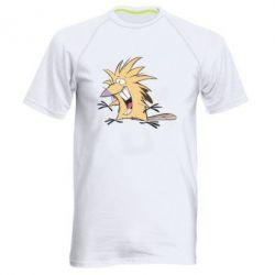 Мужская спортивная футболка Крутые бобры - FatLine