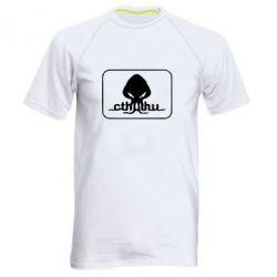 Мужская спортивная футболка Ктулху - FatLine