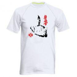 Мужская спортивная футболка Kyokushin Kanku logo - FatLine
