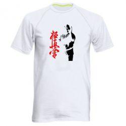 Мужская спортивная футболка Kyokushin Kanku Master - FatLine