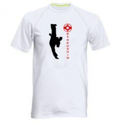 Мужская спортивная футболка Kyokushin Kick