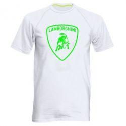 Мужская спортивная футболка Lamborghini Auto - FatLine
