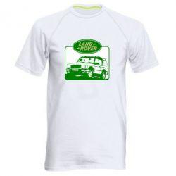 Мужская спортивная футболка Land Rover - FatLine
