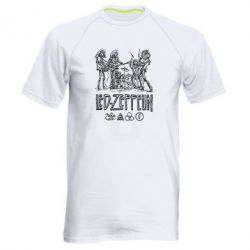 Мужская спортивная футболка Led-Zeppelin Art