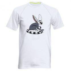 Мужская спортивная футболка Лемур - FatLine