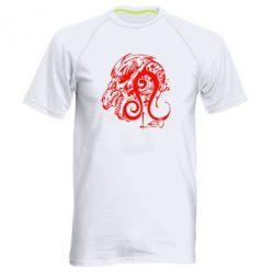 Мужская спортивная футболка Leo (Лев) - FatLine