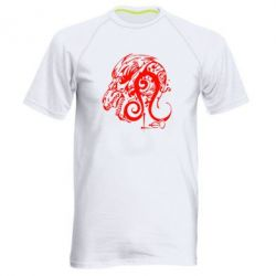 Мужская спортивная футболка Leo (Лев)