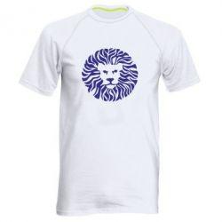 Мужская спортивная футболка лев
