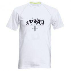 Мужская спортивная футболка Lineage fight
