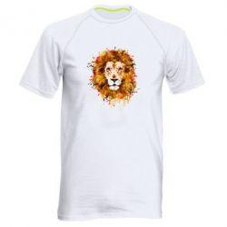 Мужская спортивная футболка Lion Art - FatLine