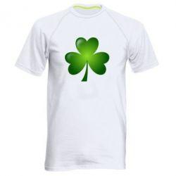 Купить Мужская спортивная футболка Листик клевера, FatLine