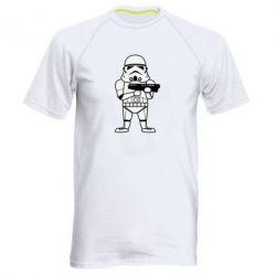 Мужская спортивная футболка Little Stormtrooper - FatLine