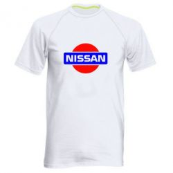 Мужская спортивная футболка Logo Nissan