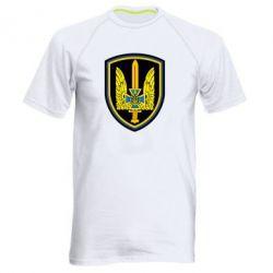 Мужская спортивная футболка Логотип Азов - FatLine
