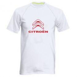 Чоловіча спортивна футболка Логотип Citroen - FatLine