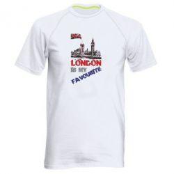 Купить Мужская спортивная футболка Лондон цветной, FatLine