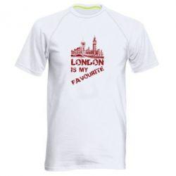 Мужская спортивная футболка Лондон моноцвет, FatLine  - купить со скидкой
