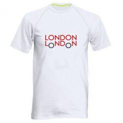 Мужская спортивная футболка London - FatLine