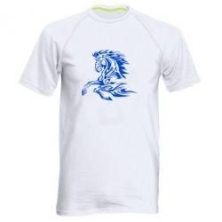 Мужская спортивная футболка Лошадь - FatLine