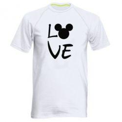 Чоловіча спортивна футболка Love Mickey Mouse (male)