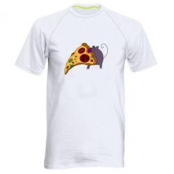 Мужская спортивная футболка Love Pizza 2