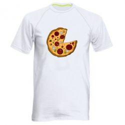 Мужская спортивная футболка Love Pizza - FatLine