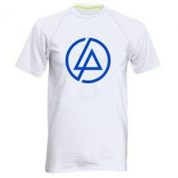 Мужская спортивная футболка LP logo - FatLine