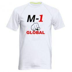 Мужская спортивная футболка M-1 Global - FatLine