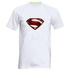 Мужская спортивная футболка Man of Steel - FatLine