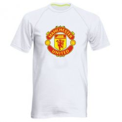 Мужская спортивная футболка Манчестер Юнайтед - FatLine