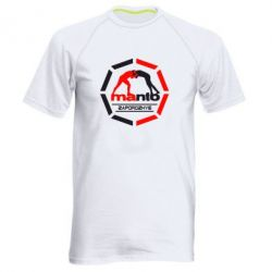 Мужская спортивная футболка Manto Zaporozhye - FatLine