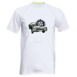 Мужская спортивная футболка Машина Винчестеров - FatLine