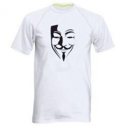 Мужская спортивная футболка Маска Вендетта