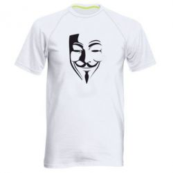 Мужская спортивная футболка Маска Вендетта - FatLine