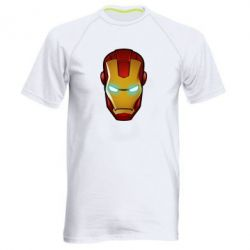 Мужская спортивная футболка Маскаа Железного Человека - FatLine