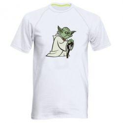 Мужская спортивная футболка Master Yoda - FatLine