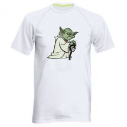 Мужская спортивная футболка Master Yoda