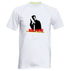 Мужская спортивная футболка Max Payne - FatLine