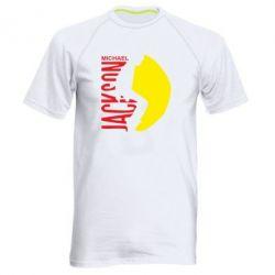Мужская спортивная футболка Майкл Джексон - FatLine