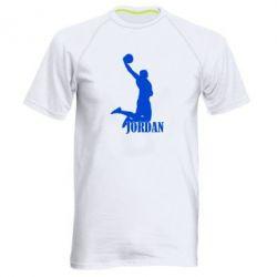 Мужская спортивная футболка Майкл Джордан - FatLine