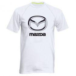 Мужская спортивная футболка Mazda Logo - FatLine