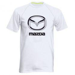 Мужская спортивная футболка Mazda Small - FatLine