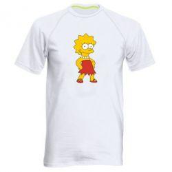 Мужская спортивная футболка Мэгги Симпсон - FatLine