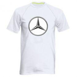 Мужская спортивная футболка Mercedes - FatLine